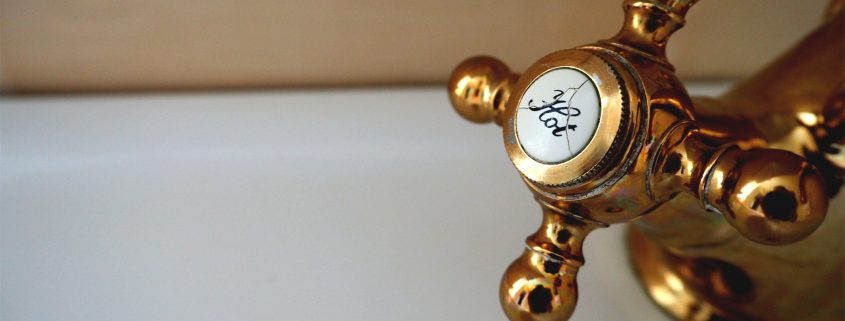 hot water knob